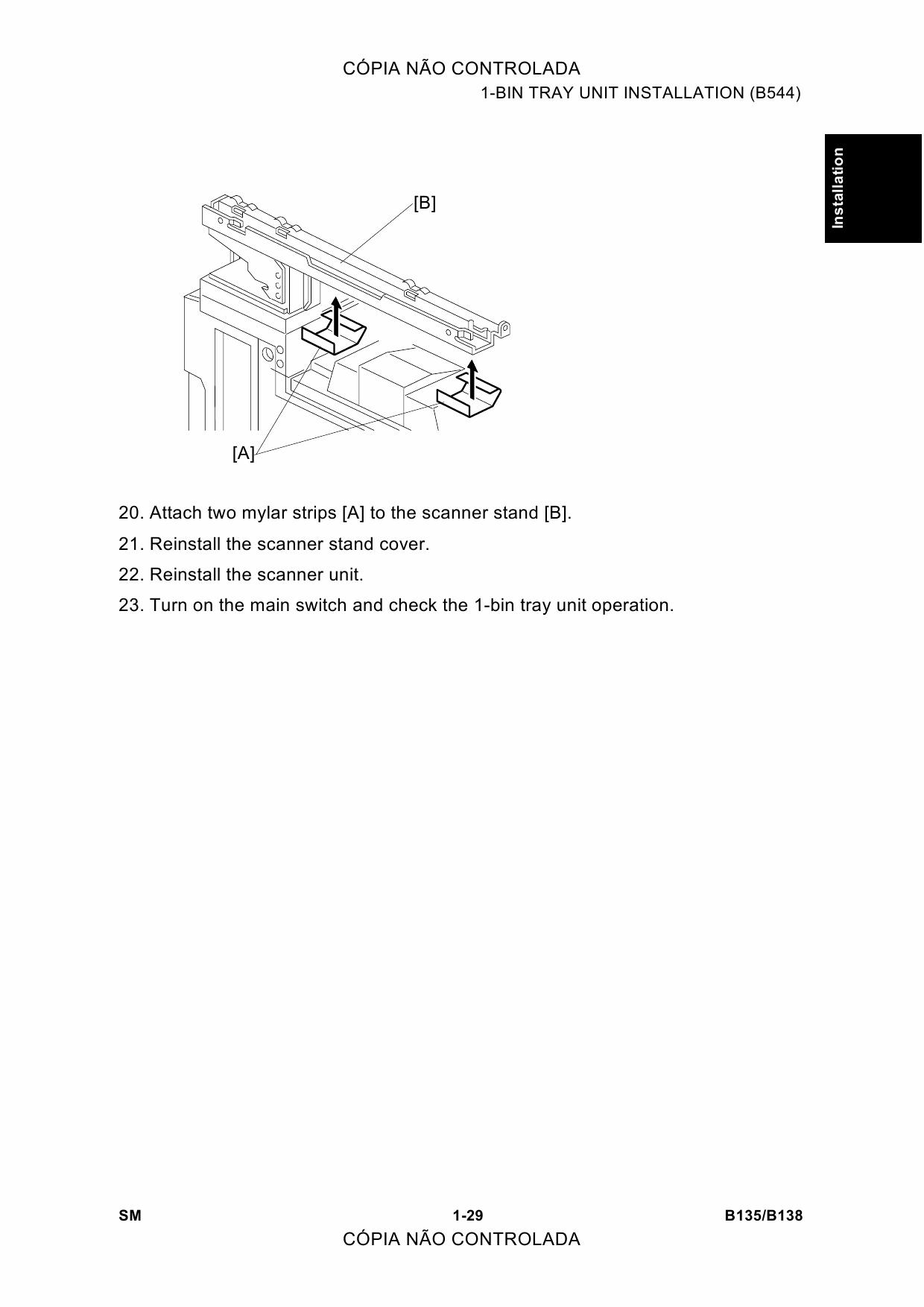 Ricoh Aficio 2045e User Manual Garage Door Opener Circuit Design Tom39s Maker Site Array 2035e B135 B182 B138 B183 Service Rh Qmanual Com
